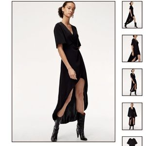 Babaton Aritzia Jedd High Low Dress